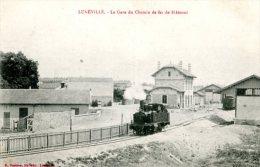 54 LUNEVILLE La Gare De Chemin De Fer à Blamont - Luneville