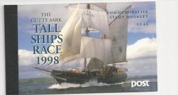 1998 MNH Booklet , Tall Ships,  Eire, Ireland, Irland, Postfris - Libretti