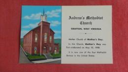 West Virginia> Grafton  Andrew's Methodist Church  -------------   ---------ref 1941