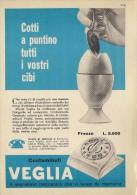 # VEGLIA BORLETTI MILANO OROLOGI HORLOGERIE 1950s  Italy Advert Publicitè Reklame Montre Uhr Reloj Watch Alarme Clock - Orologi Pubblicitari