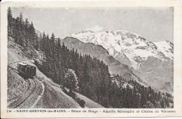 SAINT GERVAIS LES BAINS - 74 - Dome De Miage - Aiguille Berangère Et Chaine Du Vorassay - VAN - - Saint-Gervais-les-Bains