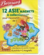 MAGNET BROSSARD - 12 ASIE'MAGNETS - JAPON COREE DU SUD - Animaux & Faune