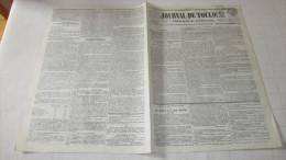 MONTVILLE - CATASTROPHE D'AOUT 1845 ( TORNADE ) - FILATURE DE M. PICOT-DESCHAMPS - JOURNAL DE TOULOUSE -1845. - Newspapers