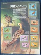 Bhutan 1968 (Scott MNH 92/92i = 6.50 $) - Birds Pheasants - Bhutan
