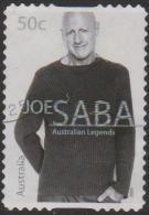 AUSTRALIA - DIECUT - USED 2005 50c Legends - Joe Saba - Oblitérés