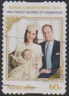 AUSTRALIA - DIECUT - USED 2013 60c Birth Of Prince George Of Cambridge - 2010-... Elizabeth II