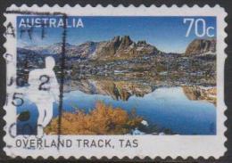 AUSTRALIA - DIECUT - USED 2015 70c Great Australian Walks - Overland Track, Tasmania - Usati