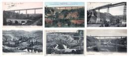 Lot De 21 Cartes CPA De Busseau Sur Creuse / D'Ahun - Toutes Scannées - - France