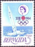 BERMUDA - OLYMPIC GAME   - YACHTING  - 1964 - **MNH - Vela