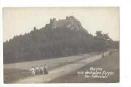 12873 - Gruss Aus Deutschen Bergen Der Tollenstein 4 Jeunes Filles - Tchéquie