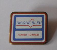 Disque Bleu Journées Techniques - Badges
