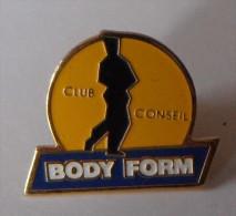 Body Form Club Conseil - Pin's