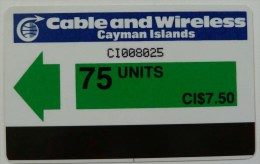 CAYMAN ISLANDS - Autelca - CAY-AU-1 - 75 Units - Control CI.... - Used - Cayman Islands