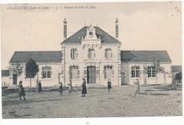 41 - CELLETTES - Mairie Et Ecole De Filles - Autres Communes