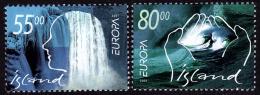 Europa - CEPT - Islande 2001 - Yvert Nr. 914/915 - Michel Nr. 961/962  ** - Europa-CEPT