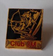 Club 3M Voile Tir à L'arc Ski - Pin's
