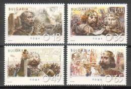 BULGARIA \ BULGARIEN / BULGARIE - 2002 - Historie - 4v** - Neufs