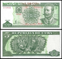 Banco Central 5 PESOS 2006 A.Maceo P 116i UNC