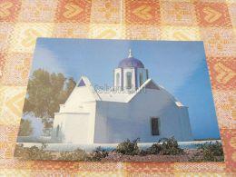 Santorine - Thera, Church In The Country Near Pyrgos, Greece - Grecia