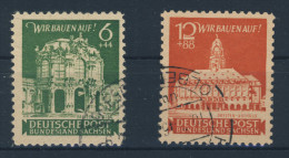 Ost Sachsen Michel No. 64 - 65 gestempelt used