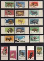 1964 - Cuba - Sc 3065/3084** - Borde De Hoja - Zoo De La Habana - MNH - Perfectos - Cuba