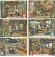 L'arte Culinaria Presso Diversi Popoli 6 Figurine Cod.liebig.068 - Liebig