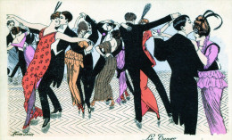Le Tango. Illustrateur Xavier Sager - Sager, Xavier