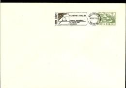 Romania, Cover With Philatelic Post Stamp, Davis -Cup 1990, Romania - England, Last Day - Tennis