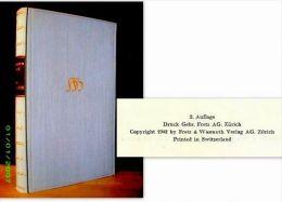 """""""Die GEDICHTE"""" Hermann HESSE Poesie Poetry FRETZ & WASMUTH 2ème Edition 2. Auflage 1942 ! - Livres, BD, Revues"""