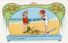 E. OROT - ENFANT - JEUX - PECHE - AMOUR - LOT DE 3 CARTES - N° 7081-7104-7109 - Illustrators & Photographers