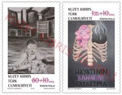 "2015 TURKISH CYPRUS ZYPERN CHYPRE CIPRO "" Cancer "" MNH - Chypre (Turquie)"
