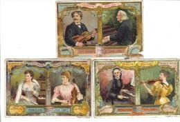 Celebrità Musicali 3 Figurine Cod.liebig.070 - Liebig