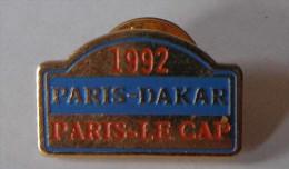 Paris Dakar 1992 Le Cap - Automobile - F1