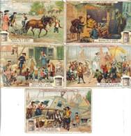 Sovrani Fra Il Popolo 5 Figurine Cod.liebig.072 - Liebig