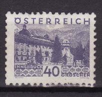 AUSTRIA 1932. MH, ANK 539 - 1918-1945 1ère République
