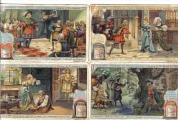 Maestri Cantori Di Norimberga 4 Figurine Cod.liebig.074 - Liebig