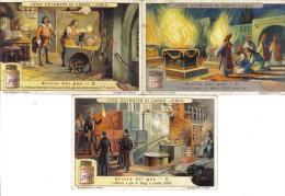 Storia Del Gas 3 Figurine Cod.liebig.075 - Liebig