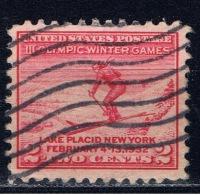 US+ 1932 Mi 346 Skispringer - United States