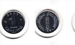 France  1 Centime  Epi 2001 - A. 1 Centime