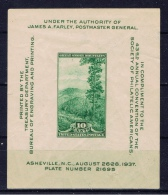 US+ 1937 Mi Bl. 8 - 404 Mnh Smoky Mountains - Unused Stamps