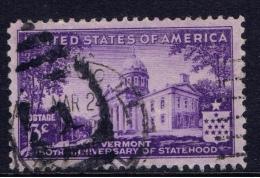 US+ 1941 Mi 499 500 Vermont, Flugzeug - United States