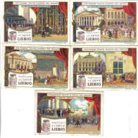 I Più Famosi Teatri D'opera Del Mondo 5 Figurine Cod.liebig.079 - Liebig