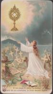 Image Religieuse    A Vos Pieds , O Jésus - Santini