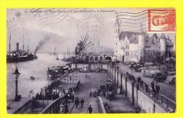 * Antwerpen - Anvers - Antwerp * (SBP, Nr 14) Le Steen, Musée D'armes Anciennes Et Bébarcadère, Schelde, Péniche, Quai - Antwerpen