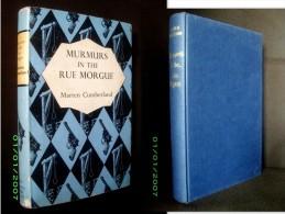 «MURMURS In The RUE MORGUE» (SATURNIN DAX DETECTIVE NOVEL) Marten CUMBERLAND Mystery Book 1959 1st UK Edition + Jacket !