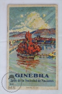 Old Switzerland, Geneva Tourism Brochure - With Images And Map - Folletos Turísticos