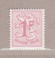 1957 Nr 1027BP2** Postfris Zonder Scharnier.Cijfer Op Heraldieke Leeuw. - 1951-1975 Heraldic Lion
