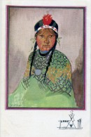 SIOUIAPAN -FILLETTE CRISE DU LAC POULE D'EAU  - Illust : Paul CROZE - Indiens De L'Amerique Du Nord