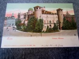 CPA TORINO PALAZZO MADAMA Avec Affr. Timbre Et Publicité Voir Verso - Palazzo Madama