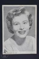 Original Old Cinema/ Movie Advertising Image - Actress: Nancy Olson - 12 X 17 Cm. - Publicité Cinématographique